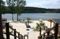Bild 13: Ferienwohnung mit Terrasse am Möhnesee, Garten, Liegewiese und Grillkamin