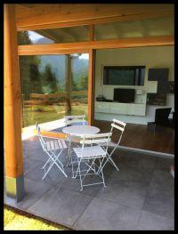 Bild 13: Ferienhaus Regina mit eingezäunten Garten und Seeblick