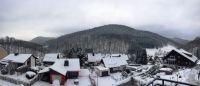 Blick vom oberem Balkon - Bild 1: Haus Panoramablick im Oberharz mit 50.000er Internet