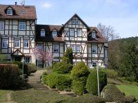 """auf dem Katzenstein, oberhalb des Märchengrunds mit Märchenpark und neben dem Greifvogelpark Harzfalkenhof - Bild 13: Ferienwohnung """" Der Falkenhorst """" Alleinlage im Südharz oberhalb Bad Sachsa"""