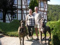 """Halt ich nicht die Ohren schön, bereit zum Abflug - Bild 1: Ferienwohnung """" Der Falkenhorst """" Alleinlage im Südharz oberhalb Bad Sachsa"""