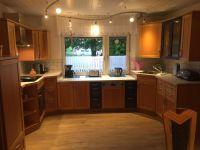 7,5m Einbauküche mit Heißluftherd - Bild 7: Fewo-Haus- Arnolde Nordsee Ostfriesl. EingezGarten, Rolliger. Senioren Hund