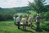 Blick von oben auf das Imerather Maar. - Bild 16: Ferienwohnung EifelNatur 4 - komfortable 4-Sterne FeWo in ruhiger Lage
