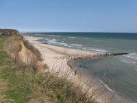 """Unser täglicher Spaziergang mit unseren """"Wuffis"""": Strand, Steiküste, Wald. Was will man mehr? - Bild 13: Ostsee bei Grömitz, Lübecker Bucht, Meersicht, Hunde willkommen"""