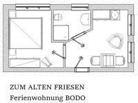 """Bild 4: Wangerland: """"Zum alten Friesen"""" Fewo BODO, naturnah vor den Toren Hooksiels"""