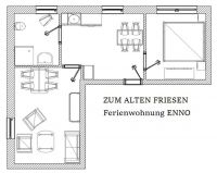 "Bild 4: Wangerland: ""Zum alten Friesen"" Fewo ENNO, naturnah vor den Toren Hooksiels"
