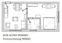 """Bild 4: Wangerland: """"Zum alten Friesen"""" Fewo FRIESO, naturnah vor dem Toren Hooksie"""