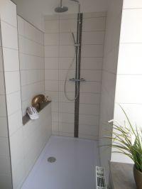 Dusche 140 x 90cm - Bild 10: EG FEWO in Göhren 200m zum Strand, Terrasse, WLAN!!