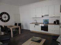Küchenzeile mit Spülmaschine und Backofen - Bild 4: EG FEWO in Göhren 200m zum Strand, Terrasse, WLAN!!