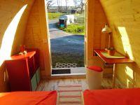 """Bild 4: Ferienhaus - Camping Pod 1 """"Apfelhäusle"""" auf dem Burgstallhof"""