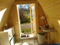"""Bild 4: Ferienhaus - Camping Pod 2 """"Wengertshäusle"""" auf dem Burgstallhof"""