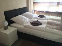 9qm mit Boxspringbett (1,80m x 2m) - Bild 10: Ferienwohnung Würzburg, hochwertig eingerichtet für bis zu 6 Personen