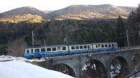 Das Vigezzotal und Centovalli lässt sich auch romantisch per Kleinbahn erschließen (Bahnhof Malesco 10km von Orasso) - Bild 22: Sonnig und ruhig gelegenes Ferienhaus in Orasso (Cannobiner Tal)