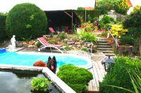 Bild 19: Ferienhaus Gabriela mit eingezäunten Garten und privatem Swimmingpool