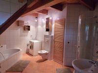 Badewanne, Dusche, Waschmaschine, Trockner usw. - Bild 7: Ferienwohnung Kribitz Hodenhagen (Aller-Leine-Tal)