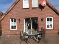 Gartenmöbel,Soonenschirm und Grill - Bild 4: Ferienhaus Ramona 2-6 Pers.Urlaub mir Hund,Nessmersiel -Nordseeküste