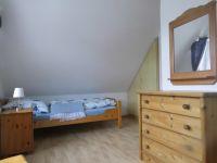 Zwei Einzelbetten - Bild 13: Ferienhaus Ramona 2-6 Pers.Urlaub mir Hund,Nessmersiel -Nordseeküste