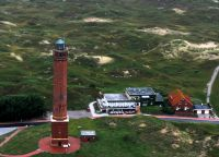 Das Haus  (Leuchtturm-Restaurant und Düne 13)liegt direkt gegenüber dem Leuchtturm - Bild 13: Wohnung Wittdün Leuchtturm-Restaurant Norderney