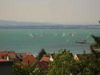 an der Schiffslandestelle - Bild 1: Ferienwohnung Fam. Müller - mit wunderschönem See- und Alpenblick -